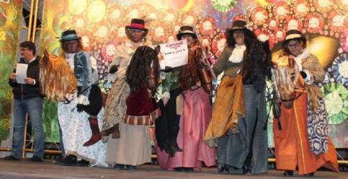 La Herradura premió la originalidad de los disfraces en su Carnaval de Adultos 2018
