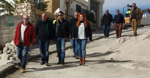 La Mancomunidad acomete una importante actuación de mejora en el centro histórico de Salobreña