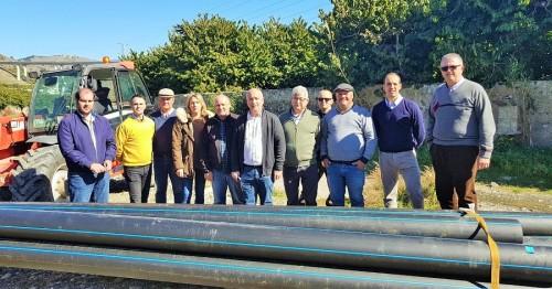 Obras de emergencia en el río Verde para aprovechar las aguas depuradas de la EDAR de Almuñécar para riego