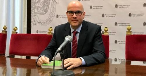 Raúl Fernández, concejal de Cs en Granada y diputado provincial