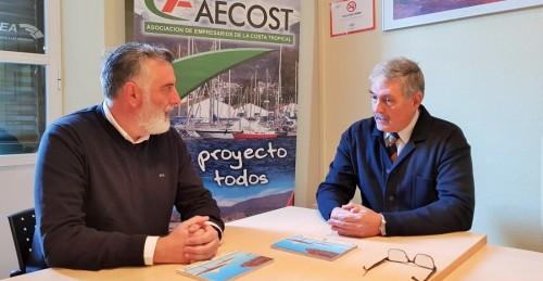 Reunión Francisco Trujillo y Luis Martín Aguado