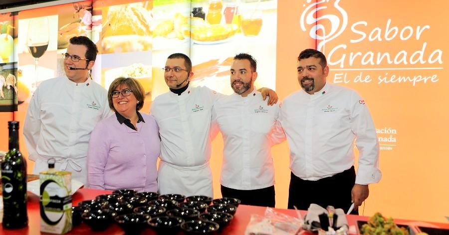 Sabor Granada se promociona en la feria de hostelería H&T de Málaga