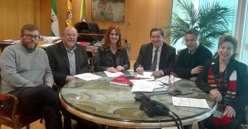 Vamos, Granada, IU y Presidente de la Diputación