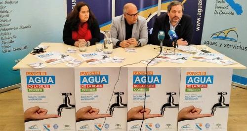 Aguas y Servicios y Mancomunidad presentan la campaña de consumo responsable en la Costa Tropical