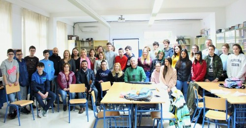 Alumnado del IES Francisco Giner de los Ríos participa en el programa Erasmus+