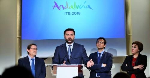 Andalucía en la ITB de Berlín busca crecer un 7,4% en el mercado alemán, 1,4 millones de turistas