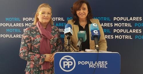 Angeles López e Inmaculada Torres_PP de Motril