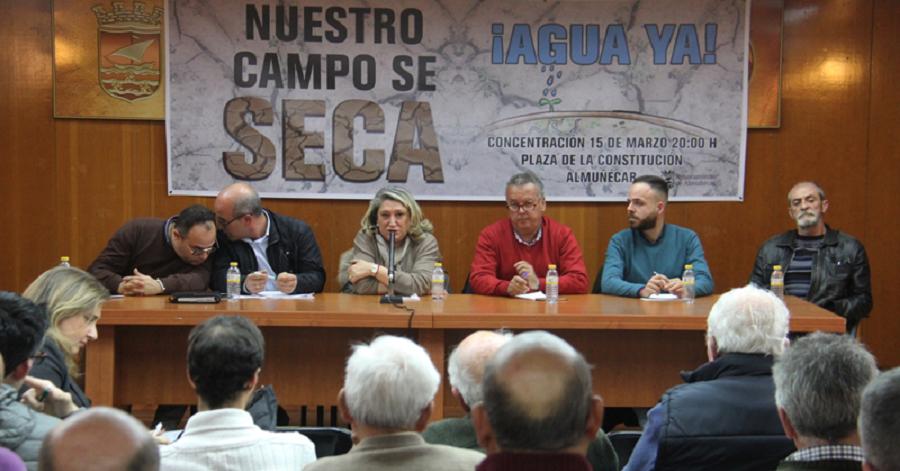 Ayto. y regantes de Almuñécar seguirán reivindicando los proyectos de riego