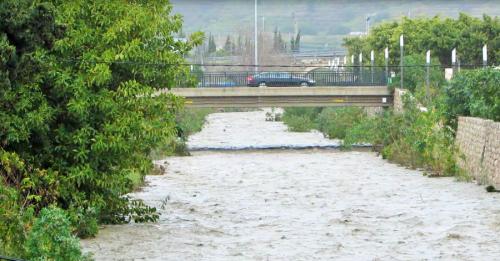 Caen en Almuñécar 190 litros por metro cuadrado desde el pasado jueves hasta esta mañana