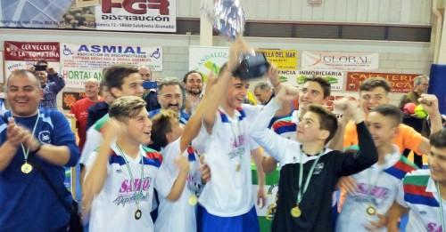 Campeonato de Fútbol Sala celebrado en Motril_Equipo malagueño campeón en categoría Infantil