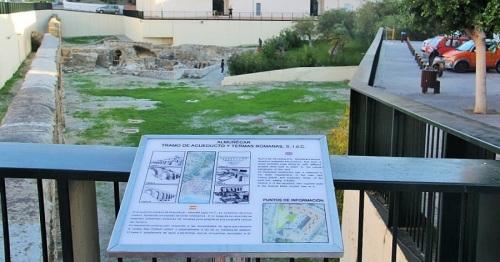 Conjunto arqueológico de La Carrera en Almuñécar