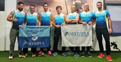 El Atletismo Sexitano presenta orgulloso a su nuevo Sponsor en el estreno de la nueva camiseta Trail