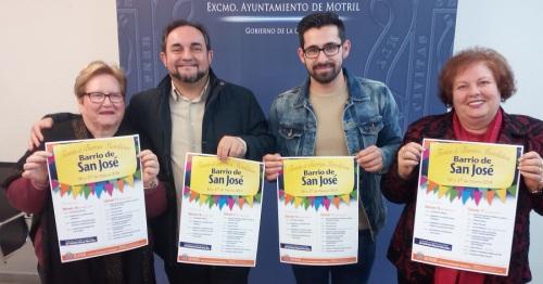 El barrio de la calle Ancha vivirá este fin de semana las fiestas en honor a San José