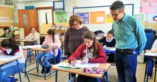 El CEIP Cardenal Belluga de Motril acoge la fase comarcal de las Olimpiadas Matemáticas Thales