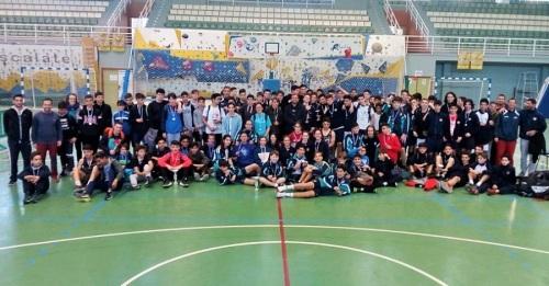 El Giner de los Ríos y el Santo Rosario vencen en el Torneo Intercentros de Baloncesto en Infantil y Cadete
