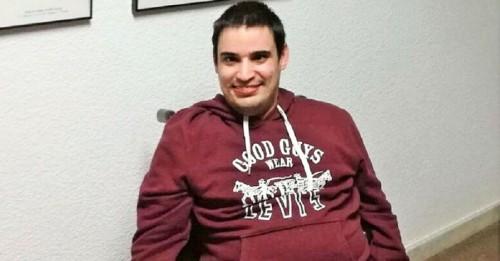 El jugador motrileño de Boccia Fernando Antúnez