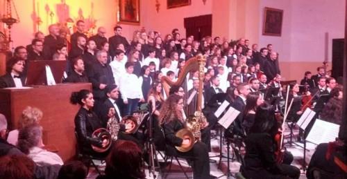 Gran concierto como broche final al I Festival de Voces Blancas de Almuñécar
