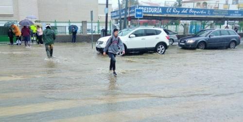 Inundaciones en Salobreña marzo 2018