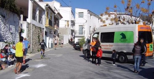 La ambulancia de Protección Civil convertida en un furgón de obras, denuncia el PP de Salobreña