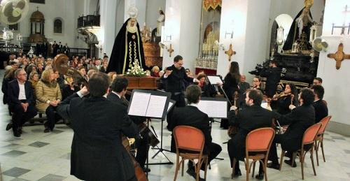 La música sacra llena de sentimiento la Iglesia Mayor de la Encarnación de Motril