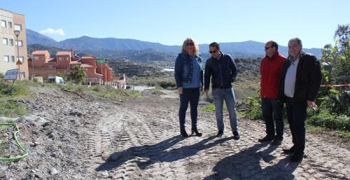 La urbanización de San Nicolás, en La Nacla, dispondrá de red de saneamiento y de abastecimiento