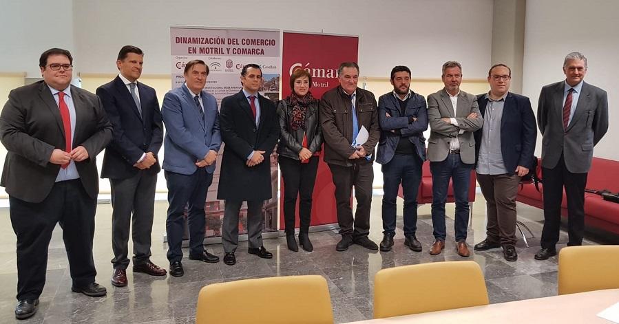 Manuel Guirado analiza la situación del sector en Salobreña en el I Foro de Dinamización del Comercio