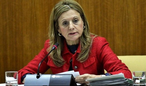 Marina Álvarez, consejera de Salud de la Junta de Andalucía