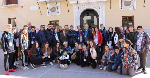 Más de 40 de niños y niñas procedentes de centros educativos de Eslovaquia, Italia, Polonia y Turquía visitan Motril.jpg