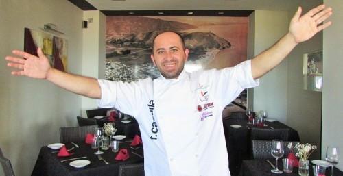 Miguel F. Castilla, chef del restaurante Reina Sofía de Almuñécar