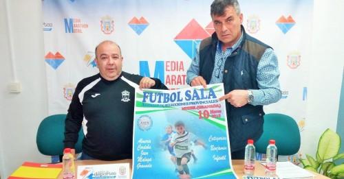 Motril, sede del Campeonato de Andalucía de Selecciones Provinciales de Fútbol Sala benjamín e infantil