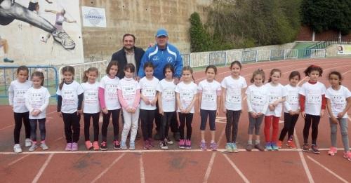 Motril vive la gran fiesta del atletismo de base con los XXII Juegos Escolares en Pista con más de 300 participantes