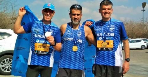 Participación del Club Atletismo Sexitano en la Zurich Maratón de Sevilla