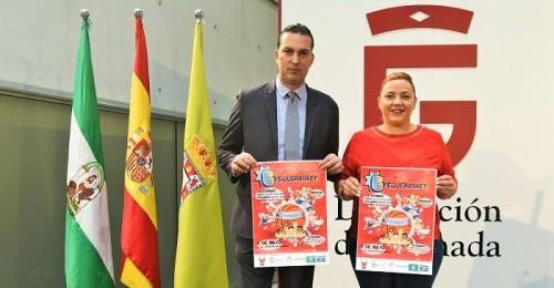 700 niños en la 6ª edición de Pequebasket de la Fundación CB Granada