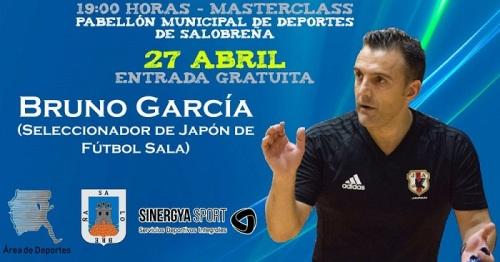 Bruno García, seleccionador nacional de Japón de Fútbol Sala, compartirá su experiencia en Salobreña