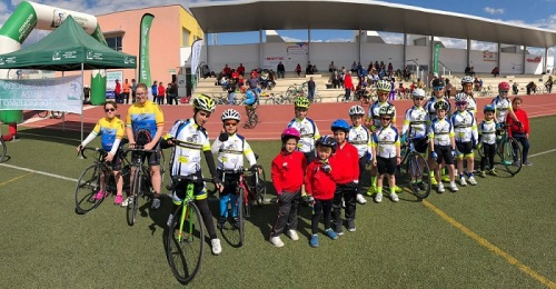Buen balance de los ciclistas sexitanos en la 1ª prueba del circuito provincial