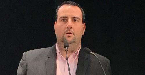 Álex Casares, Secretario de Organización del PSOE de Granada