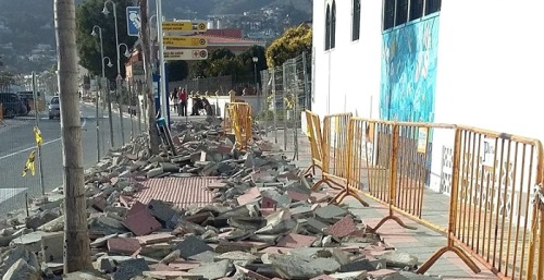 Ciudadanos critica la mala planificación de las obras en el Paseo de La Herradura