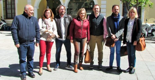 Delegados de Medio Ambiente y Agricultura de la Junta en Almuñécar