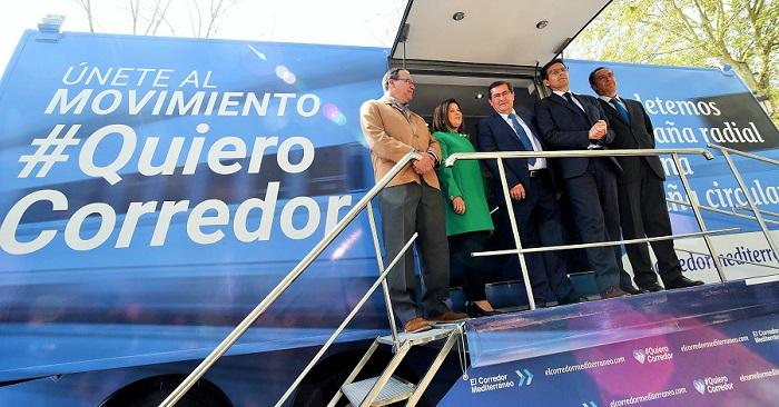 Diputación se suma al movimiento que demanda el Corredor Mediterráneo
