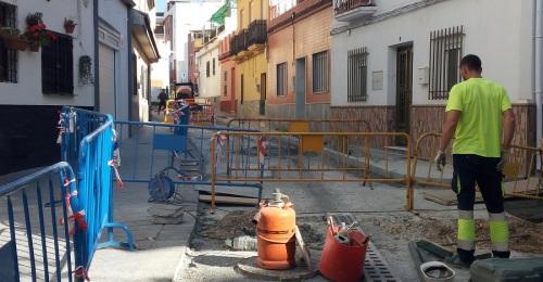 El Ayto. de Motril acomete el asfaltado y reparación de acerado de la calle Santísimo y Rambla de Capuchinos