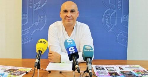 El concejal de Juventud Gregorio Morales