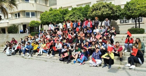 El III Encuentro de Mediadores Juveniles reúne a un centenar de jóvenes de ESO y Bachillerato de toda la provincia