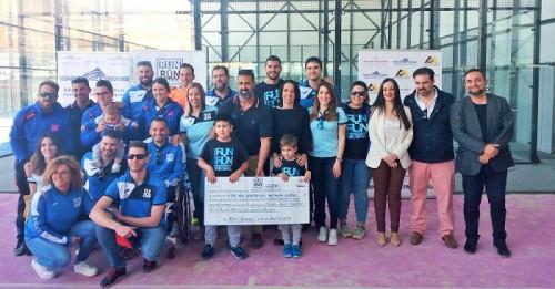 El III Torneo de Pádel Run&Run recauda 2.270 euros a beneficio de la Fundación Neuroblastoma