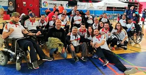 El jugador motrileño Fernando Antúnez hace un gran papel en el Campeonato Europeo Regional de Boccia