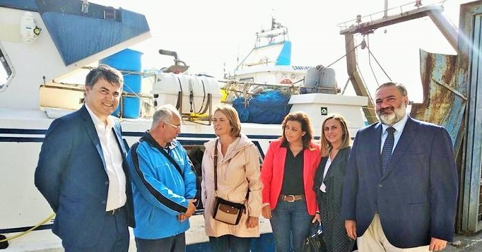 El Partido Popular muestra su apoyo al sector pesquero