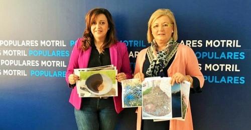 """El PP denuncia el abandono de Motril y el gobierno a """"ralentí"""" de Almón"""
