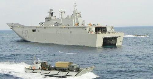 Foto de archivo del portaaeronaves de la Armada Española Juan Carlos I