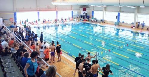 Gran Final del Circuito Provincial de Natación celebrado en Motril