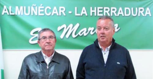 Juan Carlos Benavides y Rafael Contreras