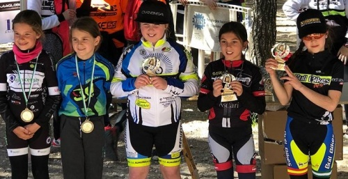 La Escuela Ciclista Sexitana presente en pruebas de Málaga, Valencia y Granada